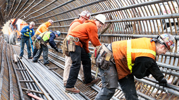 Featured Iron Worker Contractor Harris Rebar